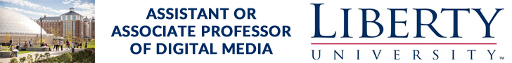 Liberty University — Assistant or Associate Professor of Digital Media