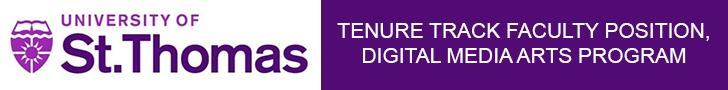 University of St. Thomas — Tenure Track Faculty, Digital Media Arts Program